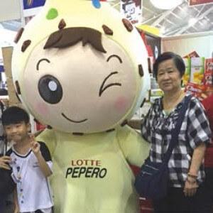 about-lotte-pepero mascot