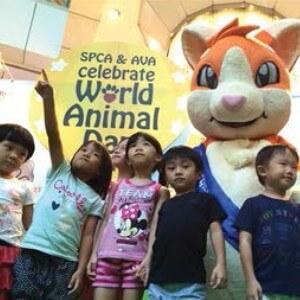 about-spca world animal mascot