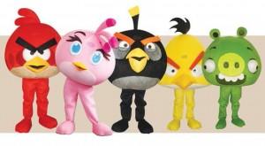 Mascot angry-birds