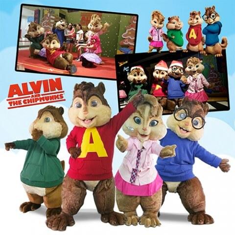 alvin chipmunks mascot