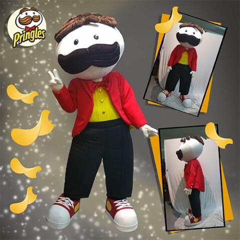 Pringles Mascot