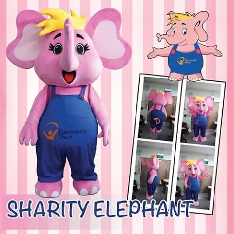 sharity elephant mascot