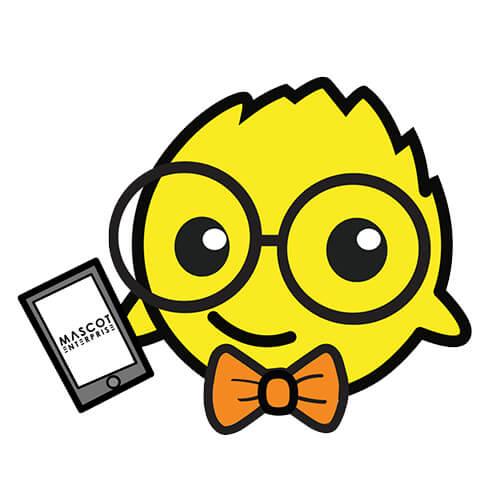 Mascot puffy