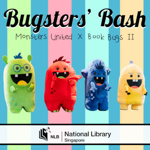 Bugsters bash mascot