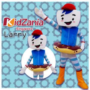 larry mascot singapore