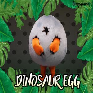 Dinosaur egg Mascot Singapore