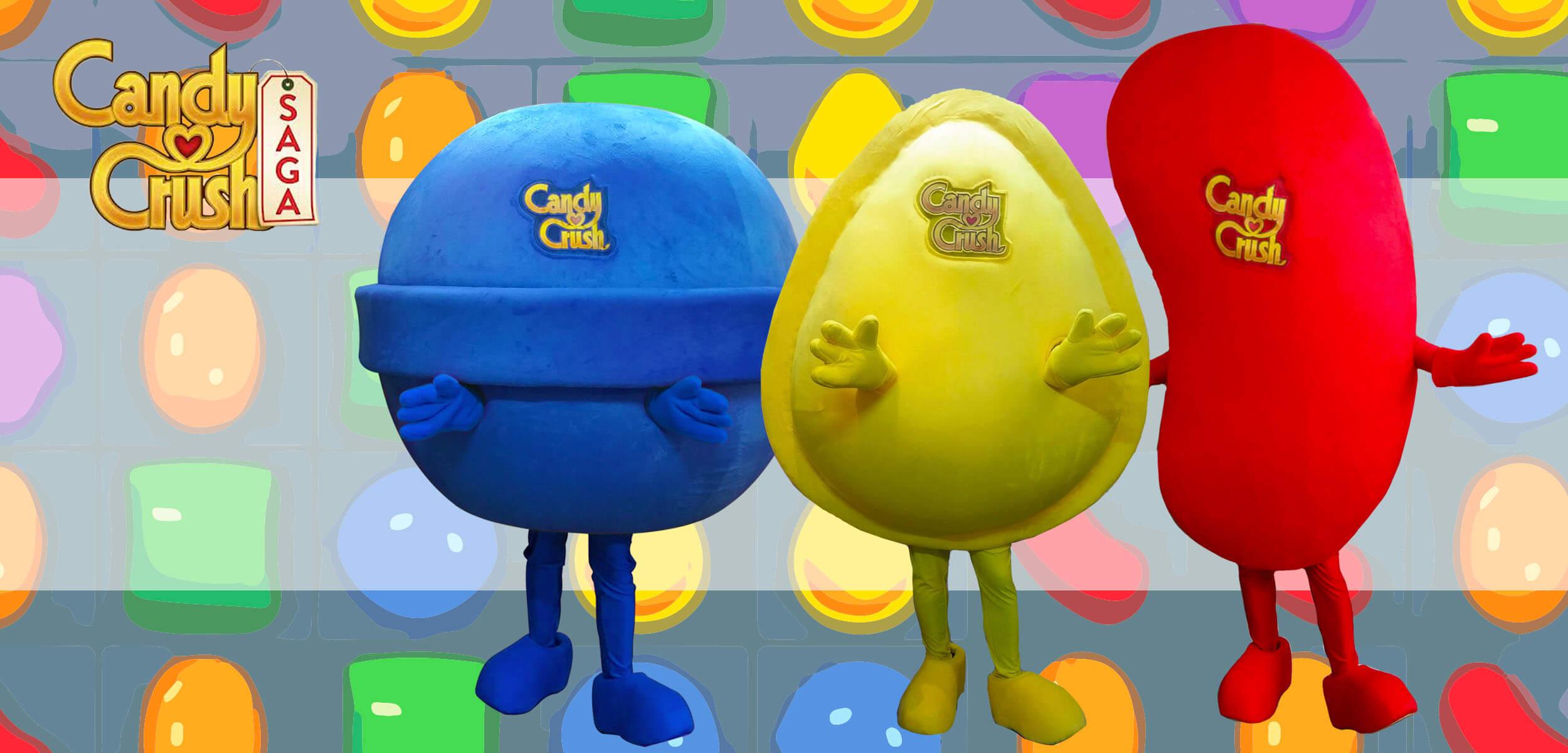 candy crush Mascot