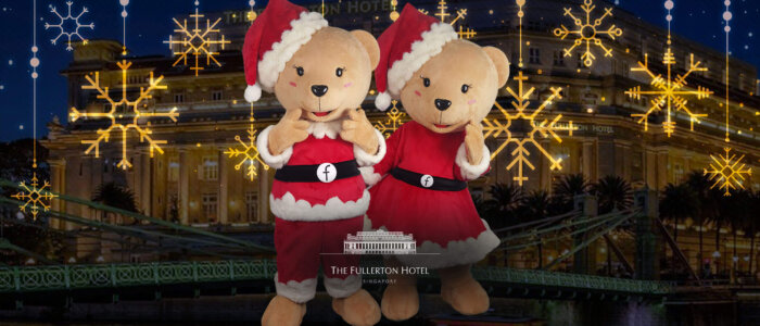 fullerton christmas full mascot